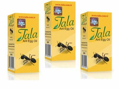 £10.64 • Buy 3 Bottle Tala Ant Egg Oil 20 Ml ✔ FREE DELIVERY ✔EXPRESS DISPATCH ✔FRESH STOCK