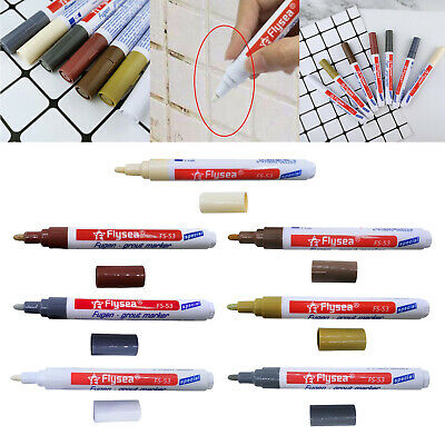 Tile Repair Pen Bathroom Wall Renew Grout Marker Coating Touch Up Spot Tools • 3.18£