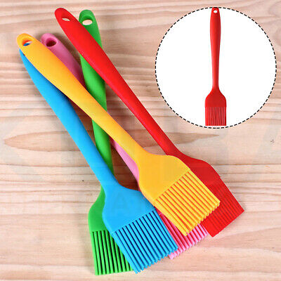 Kitchen Baking BBQ Basting Accessories Brush Pastry Oil Cream Cooking Silicone • 2.68£