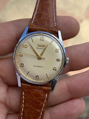 Gorgeous Dial Vintage Tissot Camping Automatic Mens Watch Swiss Made • 349£