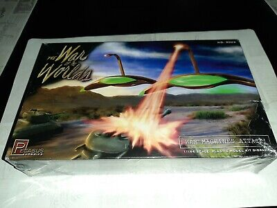 War Of The Worlds War Machines Attack Diorama Plated Model Kit Pegasus 9202 • 35.11£