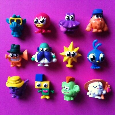 £20 • Buy MOSHI MONSTERS Series 9 ☆ Full Set 12 Regular Toy Figures ☆ Collectibles ☆ Retro