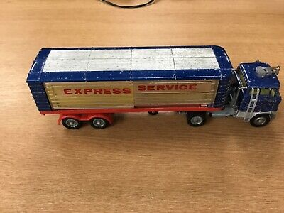 Corgi Major Toys 1137 Ford Articulated Truck Express Services Boxed. • 19.99£
