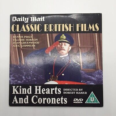 Kind Hearts And Coronets Ealing Comedy (1949) Alec Guinness Daily Mail Promo DVD • 1.95£
