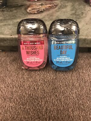 £9.99 • Buy Bath And Body Works Hand Rubs Set X2 Thousand Wishes, Beautiful Day