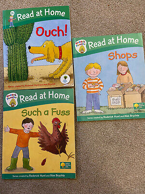 Oxford Reading Tree /Read At Home /Phonics Level 2 /Stage 2 / Book Band RED / X3 • 6.50£
