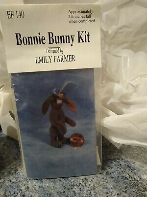 Sewing Kit For Miniature Bear Emily Farmer - Bonnie Bunny 2 3/4 Inches • 10£
