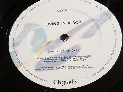 Living In A Box - Love Is The Art - 12  Vinyl • 1.95£