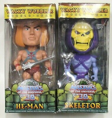 $64.95 • Buy Funko Wacky Wobbler Bobble Head MOTU 30th Anniversary He-Man & Skeletor