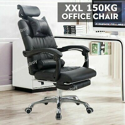 £91.21 • Buy Racing Gaming Executive Computer Chair Swivel Office Desk Recliner With Footrest