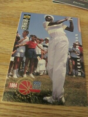 $1.25 • Buy Michael Jordan  1994-95  Collector's Choice Pro Files  Golf Card