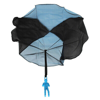 Hand Throwing Kids Mini Play Parachute Toy Soldier Toys E2X2 Sports Out A1Q8 • 0.01£