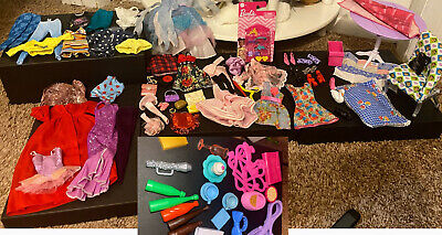 $ CDN1.26 • Buy Barbie Lot Of Accessories Clothes Furniture Dresses Vintage And New Ken Mattel