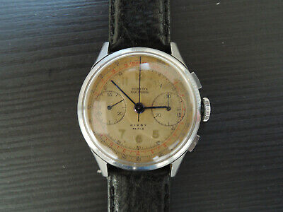 $ CDN913.31 • Buy Vintage Montre Chronographe PONTIFA Kirby  Valjoux 23 Chronograph Watch