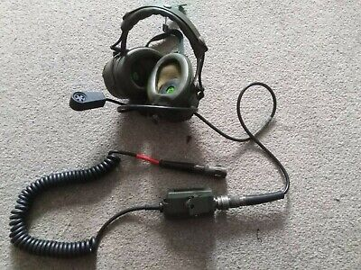 Clansman Racal Headset With Pressel Switch Excellent Condition • 49.95£