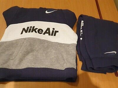 Toddlers Boys Nike Air Navy/grey Jogging Suit Age 24mths • 4.99£