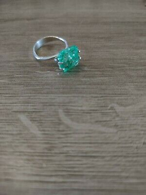 Square Cut Colombian Emerald. Stone Only. New. No Tags. 6.75ct • 42£
