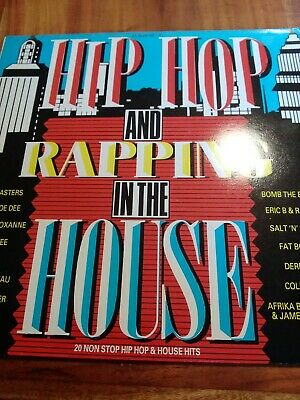 Hip Hop & Rapping In The House 20 Track Vinyl Album Various Artists  • 8.80£