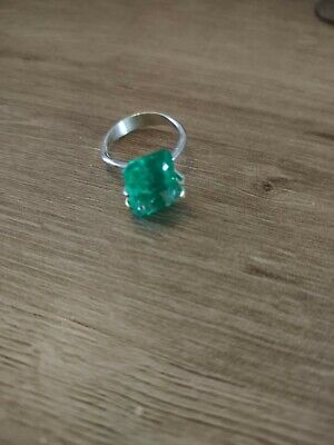 7.25ct Colombian Emerald. Emerald Cut. New. No Tags. Stone Only • 37.50£