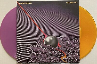 TAME IMPALA Currents 2015 US ORG Limited COLORED VINYL DBL LP Kevin Parker PSYCH • 94.50£