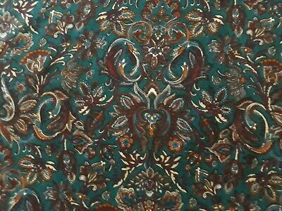 Vintage Viyella Liberty Varuna Wool Fabric-SHIRVAN- • 19.99£