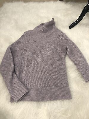 $ CDN42.33 • Buy Anthropologie Moth Asymetric Lilac Sweater Size Small