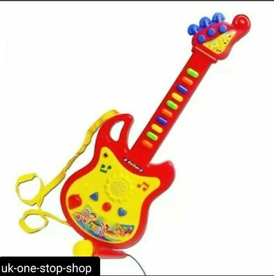 Childrens Kids Childs Easy Play Toy Musical Guitar In Retail Box • 7.95£