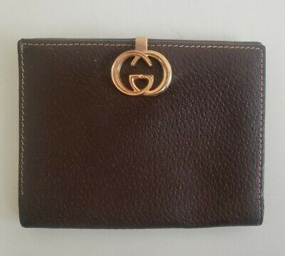 $75 • Buy Gucci Vintage Leather Wallet