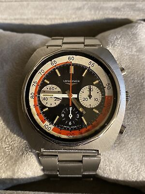 $ CDN2289.06 • Buy Vintage LONGINES 8226  Valjoux 72 Chronograph MINT Original Bracelet With BOX