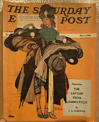 $ CDN12.70 • Buy Saturday Evening Post 1941 Cover. Norman Rockwell  COVER ONLY NO MAG