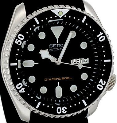$ CDN35.61 • Buy Vintage SEIKO SKX007 Diver SNOW-FLAKE Hands Mod 7S26 W/Genuine Case, Dial, Movt.