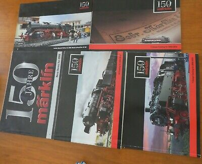 AU4 • Buy Marklin 2009/2010 Catalogues Ho, 1 And Z Scale 150 Years Marklin