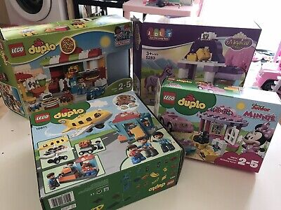 Lego Duplo Four Sets In Great Condirion Pizza Shop Airport Disney Minnie  • 54.99£