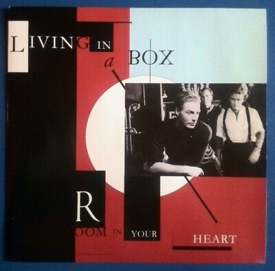 LIVING IN A BOX - ROOM IN YOUR HEART / WHEN PUSH COMES TO SHOVE    UK 7'' Vinyl  • 2.50£