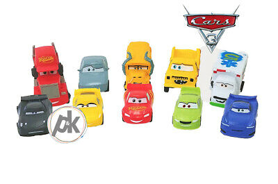 CARS 3 Cake Toppers - Party Decorations - 10 Children Disney Figures • 11.99£
