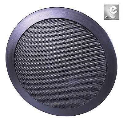 E-audio 2-Way Round Ceiling Speakers With Twin Offset Tweeters • 51.99£