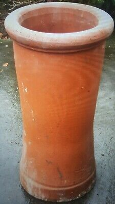 1 X Round Red Clay Chimney Pot • 20£