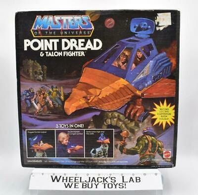 $225 • Buy Point Dread & Talon W Box Complete 1982 He-Man Masters Of The Universe MOTU