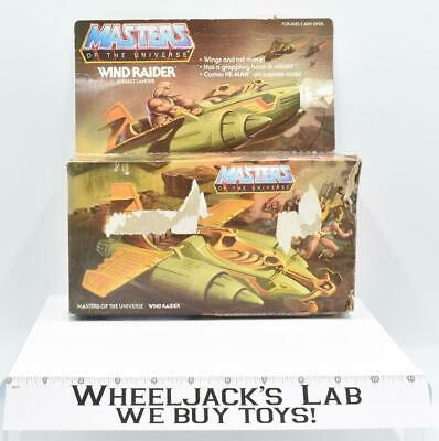 $85 • Buy Wind Raider W Box Complete 1981 He-Man Masters Of The Universe MOTU Mattel