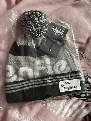 Bnwt Penfield Sanford Logo Beanie Bobble Hat Grey Black One Size Pfa212169218001 • 24.99£