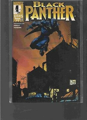 Black Panther #1 (1998) (Marvel Knights ) Dynamic Forces Alternative Cover  • 14.99£