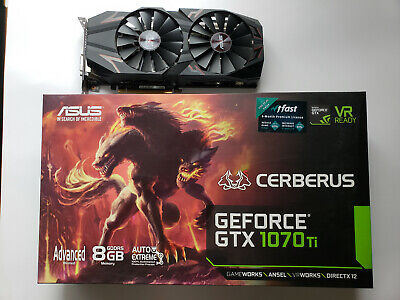 $ CDN603.53 • Buy ASUS GeForce GTX 1070 TI Cerberus 8GB Gaming Graphics Card
