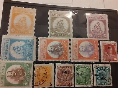 Crete Stamps 1904 On Nice Early Lot Clean  • 0.99£