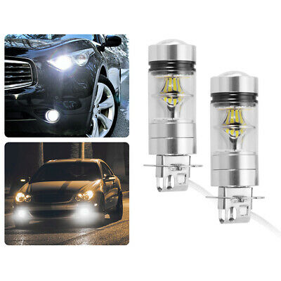AU14.82 • Buy 2x Replacement Bulbs H3 LED Fog Light Car Auto Driving DRL 100W 6000K LD1504