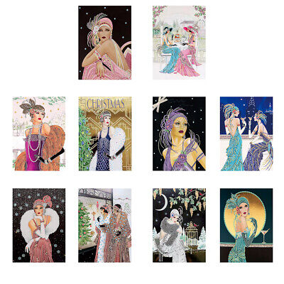 Special Shaped Diamond Painting Noble Lady DIY Mosaic Embroidery Cross Stitch • 8.44£