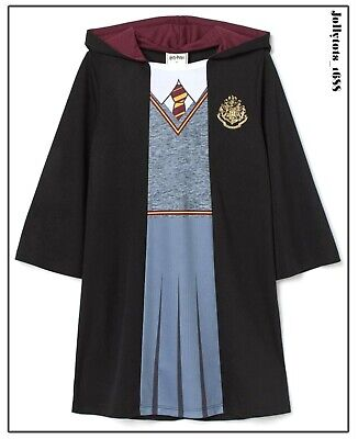 $ CDN31.73 • Buy Girls Harry Potter Robe Hermione Granger Fancy Dress Costume Character Outfit