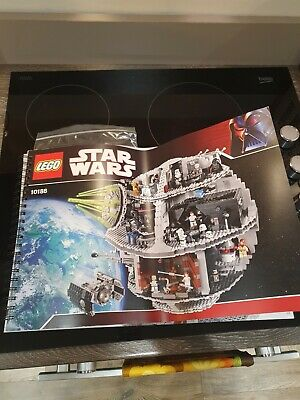 LEGO 10188 Star Wars Death Star - Retired Instructions Manual & Stickers  • 50£