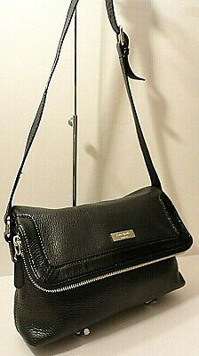 $ CDN4.55 • Buy Kate Spade New York Black Genuine Leather Crossbody Shoulder Purse Bag