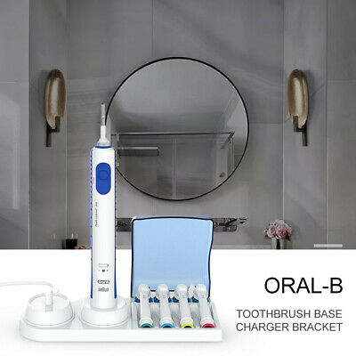 AU13.49 • Buy Braun Oral-B Electric Toothbrush Free Stand Charger Replacement Head Holder AUS