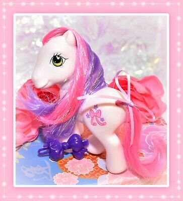 ❤️My Little Pony G3 Cute Curtsey Carriage 2006 Crystal Princess White Pony❤️ • 7.87£